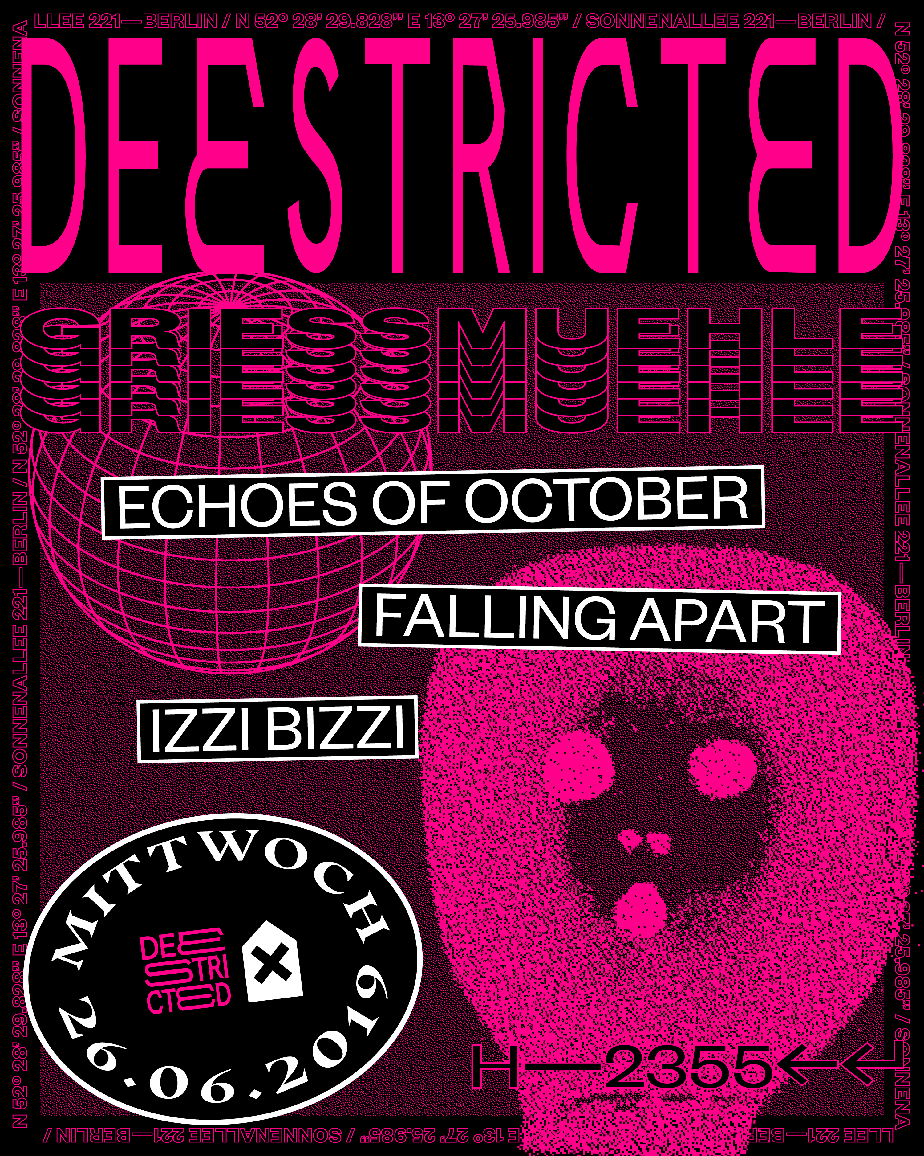 Deestricted with Echoes of October Falling Apart