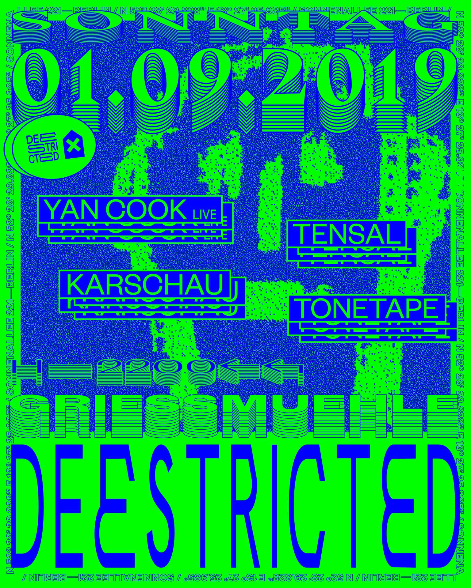 Deestricted with Yan Cook Tensal