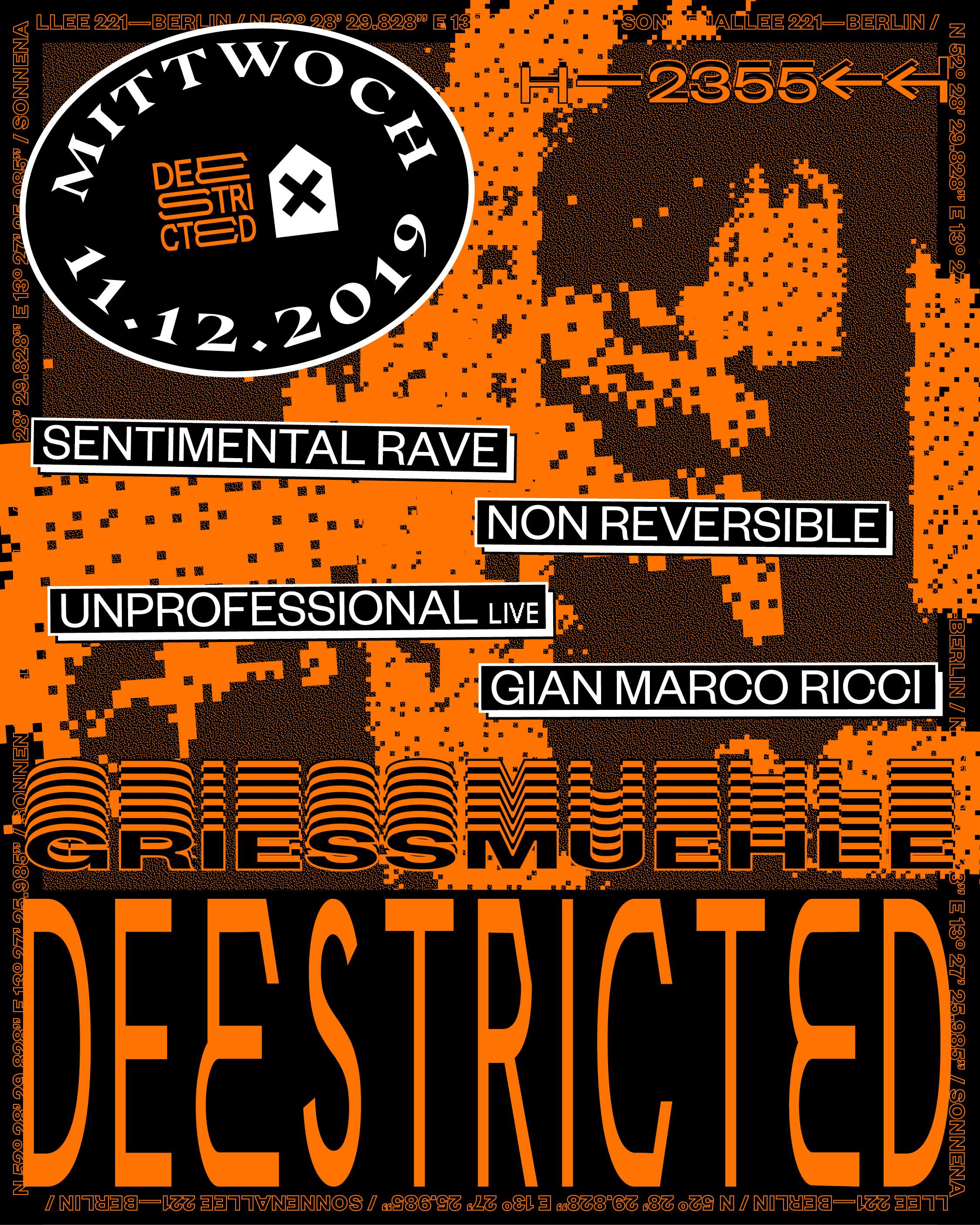 Deestricted with Sentimental Rave Non reversible